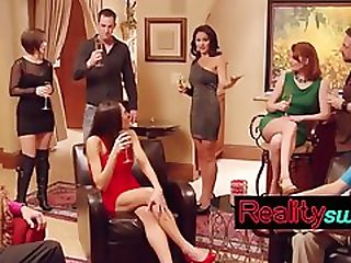 Lovely Swingers Having Fun Together