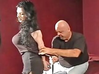 bounded bitch  to cum bondage clip 5