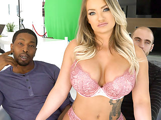 Cali Carter Fucks BBC In Front Of Cuckold Husband