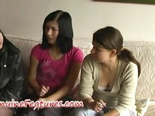Real czech punk teens in lesbian action