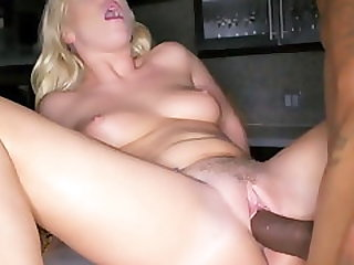 Heartbroken Blonde Finds A Thick Cock That Can Make