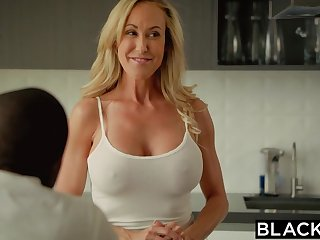 Cheating mommy Brandi Love's First Big Black Penis
