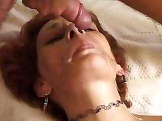 Redhead mom fucked on sofa - Telsev