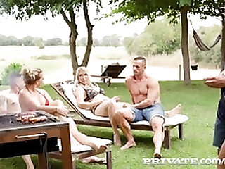 Private.com - 3 German MILFs Share 2 Hard Cocks!