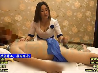 Chinese Homemade Footjob Massage