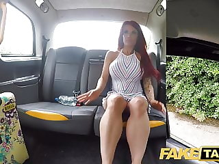 Fake Taxi Busty sexy redhead Jennifer Keelings wants black c