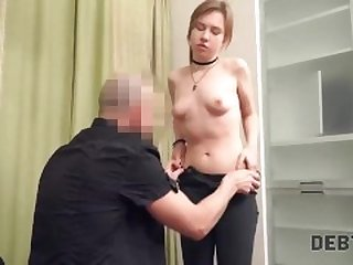 Debt4k. Sexy student Alice Klay doesnt have a job but can return