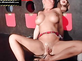 Sperm Slut in Porn Cinema