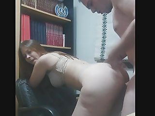 Fucking cleaning girl
