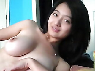 Cute Malaysian Chinese Plays With Herself