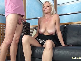 busty blonde milf fucked porn