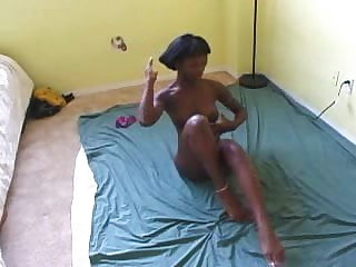 Bahamian Girl Masturbation (Retro)