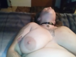 BBW Sucks Cock like a Champ then Gets Fucked, Fisted & Pussy Covered in Cum