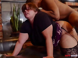 pawg bbw gets dicked down