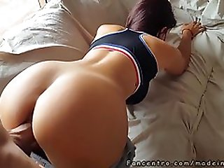 I Make A Creampie In The Fitness Young Girl Twat