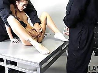 Young Crook Fucked In All Holes