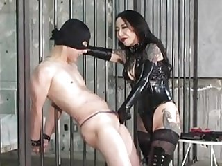 CBT Boots and plus Dick Slapping Domina