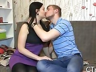 cute Russian teen has a fuck after she gets payed