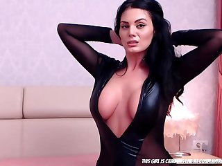 Holy Cow The Body On This Latex Model...