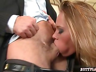 Big boobs deepthroat cumshot