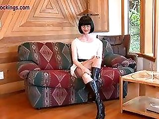FFstockings - Matures upskirt sheer panty show