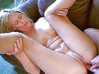 Blonde wife assfucked by husband