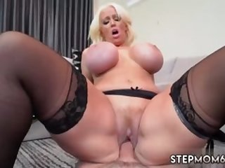 Uk milf glasses Step Mom's New Fuck Toy