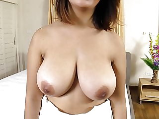 Big Thai boobs bounce while fucked raw