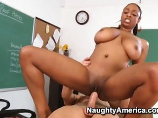 Naughty America - Find Your Fantasy Teacher Carmen Hayes fucking in the des
