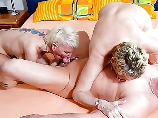 AmateurEuro - Erna & Her BFF Loves It Hardcore In 3way Fun