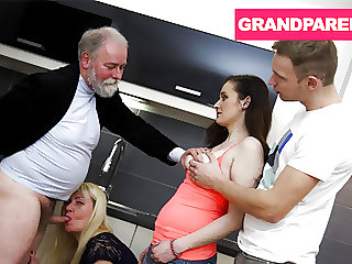 Grandpa, what the Fuck are you doing?