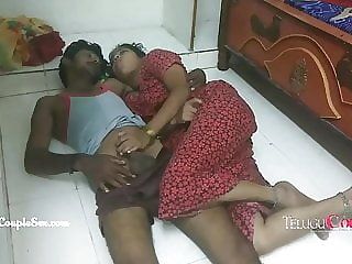 telugu village couple late night fucking with sexy desi wife