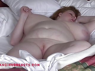 Wake up next to this huge breasts BBW