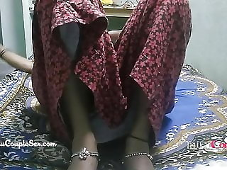 desi telugu indian village couple wife naked fucked on floor