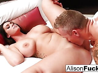 Hot Hotel room fucking with Alison and Marcus