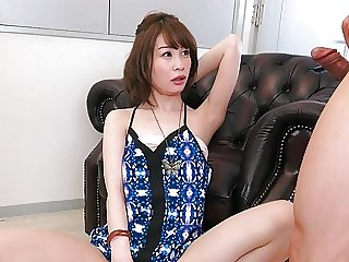Japanese brunette Remon Mizuno got pleased, uncensored
