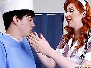 The Navy Busty Nurse Loves To Fuck Up Her Ass After Job