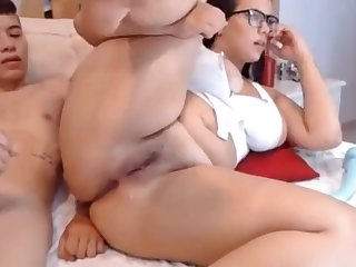 Massive  ass get anal dick slot in...