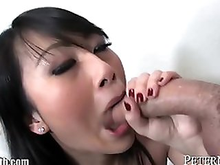 Sexually Attractive Chinese Teenage POV PORN Blowing Cock And Man Milk Swallow