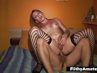 Amateur orgy with the trans Giselle fucking woman and men